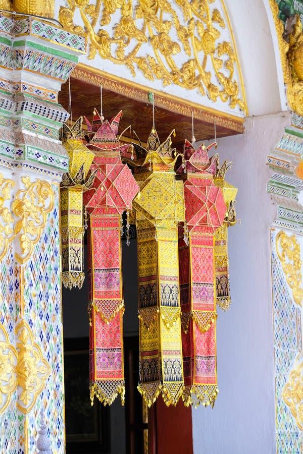 Lanternas de seda foto de stock royalty free