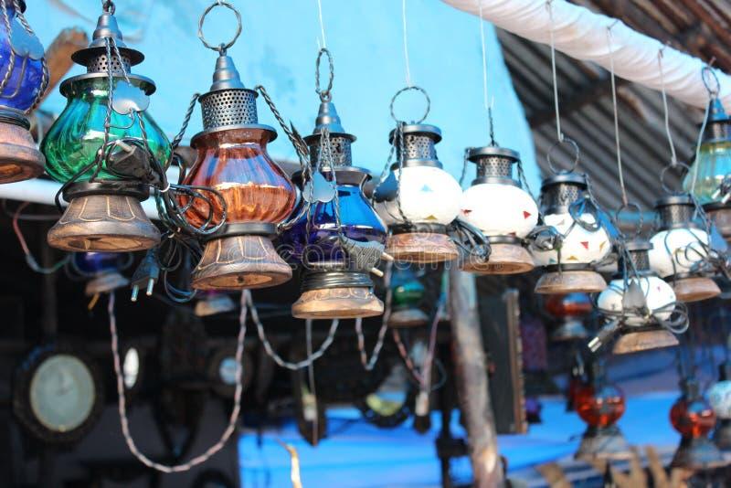 Lanternas de suspensão foto de stock royalty free