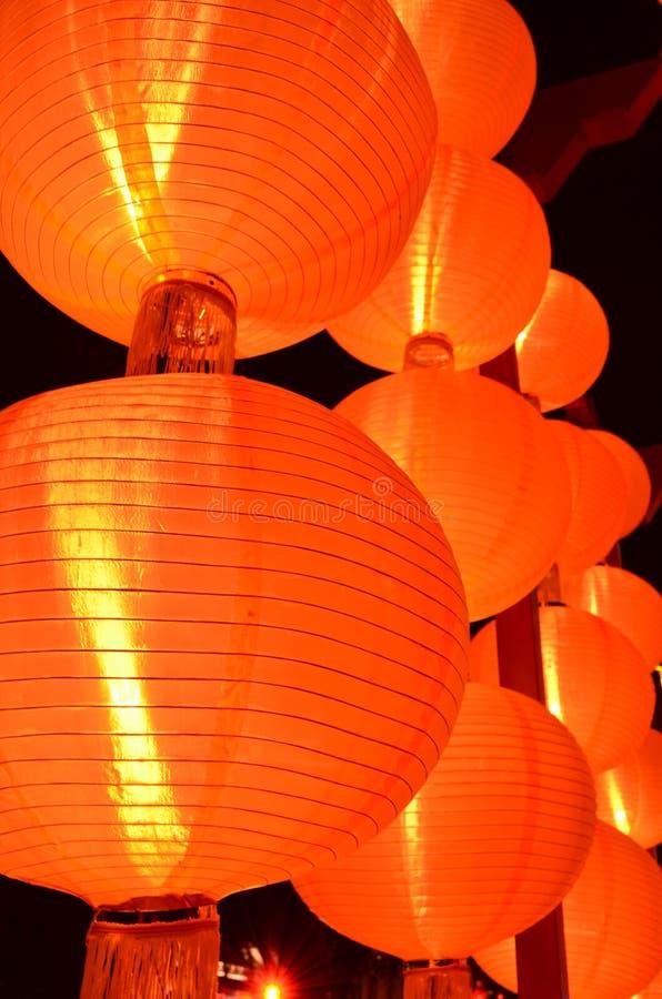 Lanternas do chinês tradicional fotografia de stock royalty free