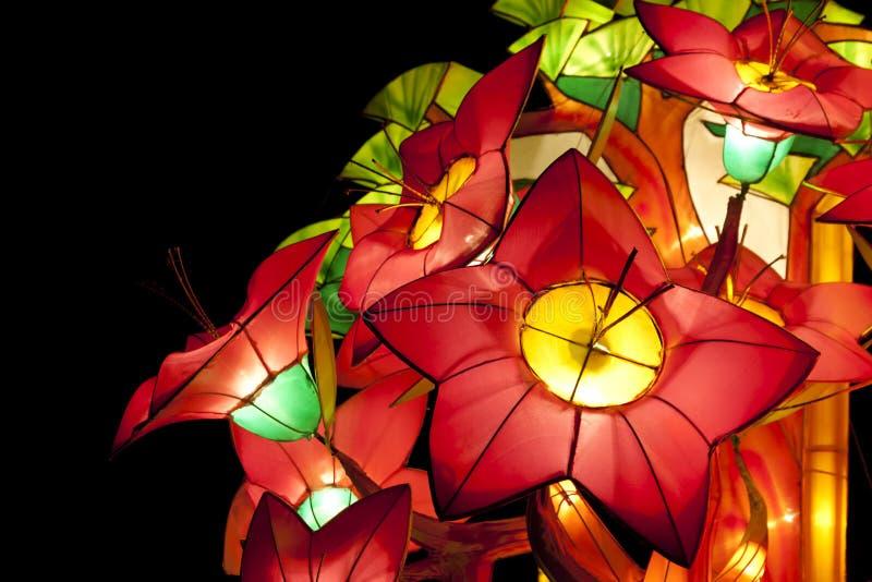 Lanternas do festival foto de stock