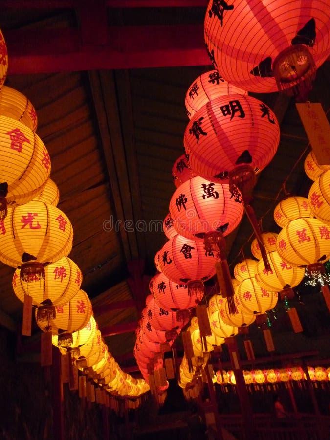 Lanternas do festival de mola imagens de stock royalty free