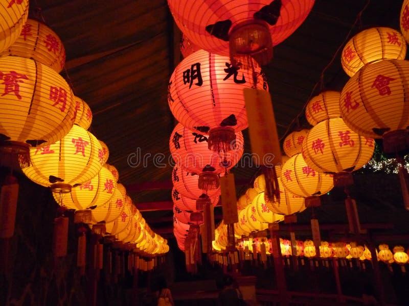 Lanternas do festival de mola imagem de stock royalty free