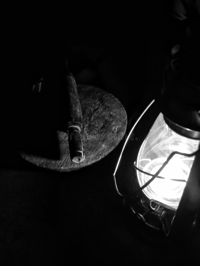 Lanternas indianas tradicionais na vila de Bengal ocidental, Índia imagem de stock royalty free