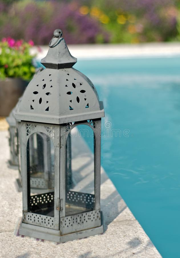 Lanternas na associação foto de stock royalty free