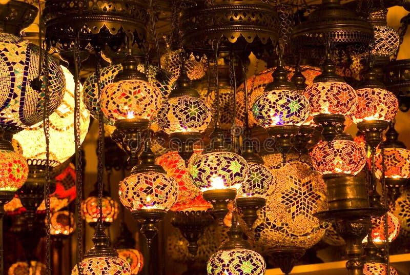 Lanternas turcas fotografia de stock royalty free