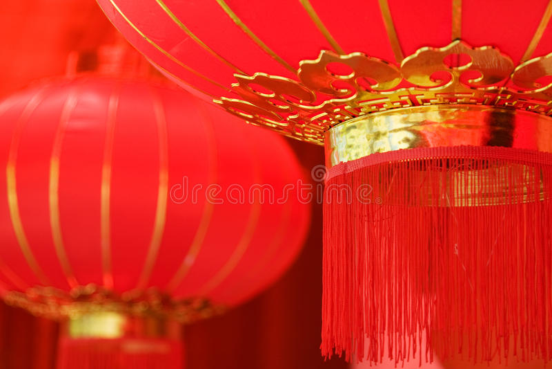 Download Lanternas vermelhas imagem de stock. Imagem de tradição - 10067185