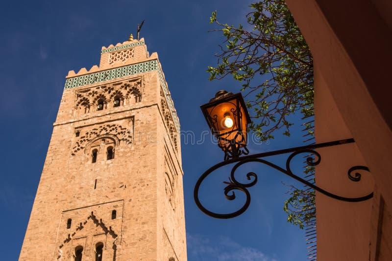 Lanterne à Marrakech Maroc images stock