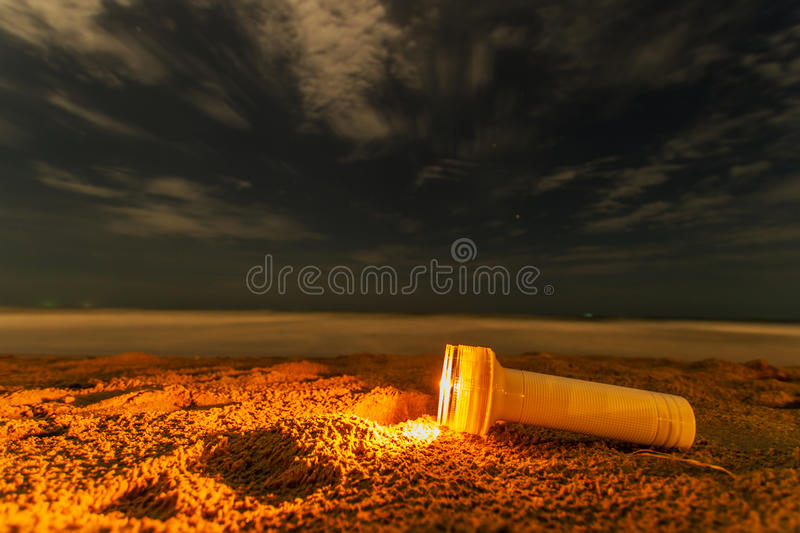 Lanterne électrique images libres de droits