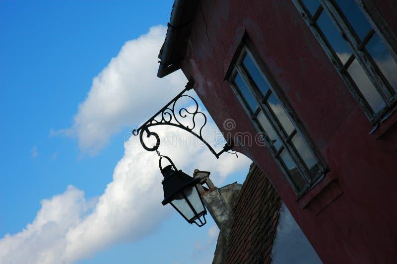Download Lanterne photo stock. Image du nuage, lampe, lumière, romania - 742262