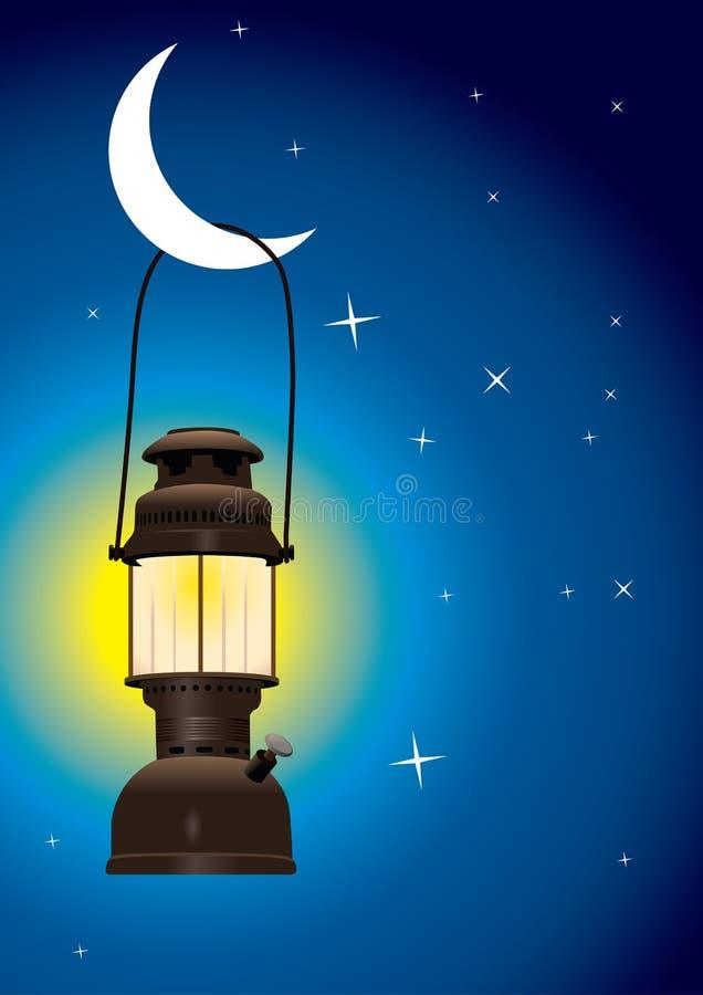 Lanterne antique illustration libre de droits