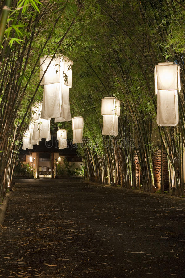 Lanterne Asiatiche. Fotografie Stock
