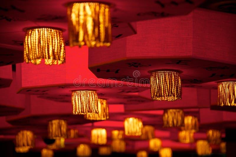 Lanterne asiatiche fotografia stock libera da diritti