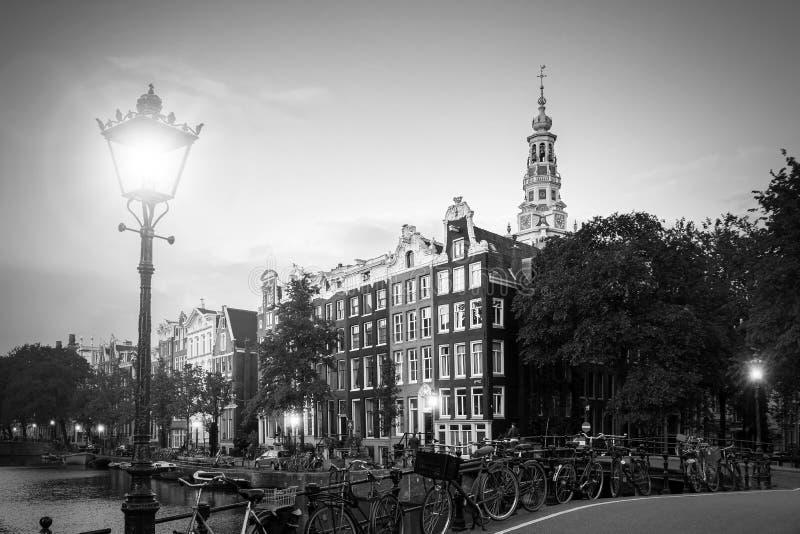 Lanterne BW d'Amsterdam images libres de droits