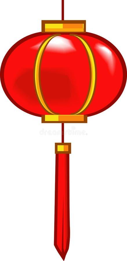 Lanterne chinoise illustration stock