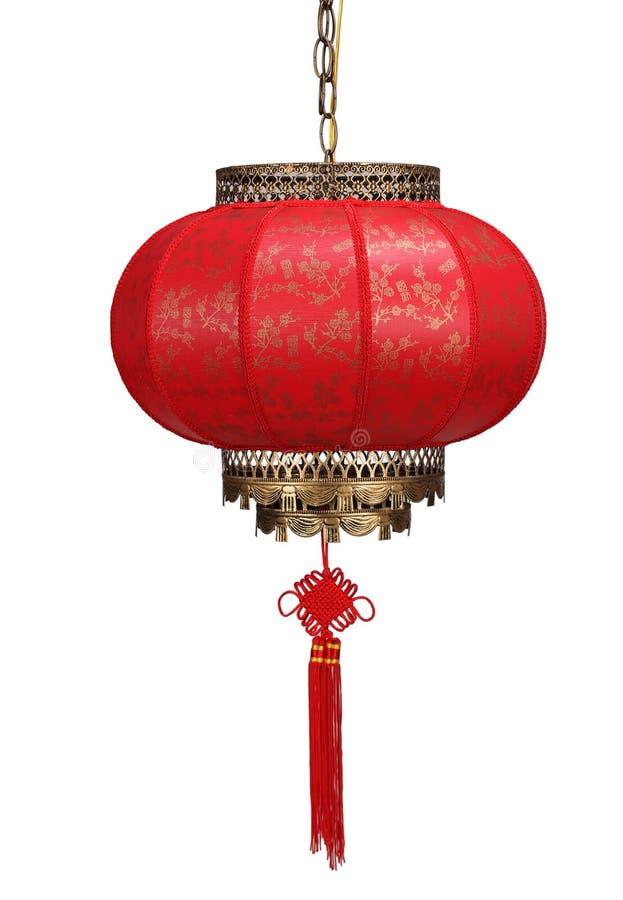 Lanterne chinoise d'an neuf photographie stock libre de droits