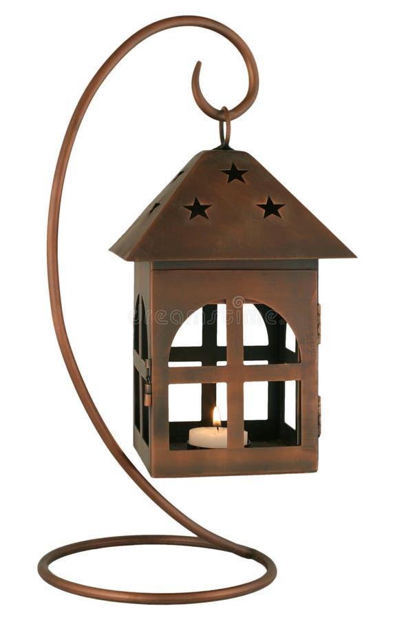 Download Lanterne de cuivre image stock. Image du qualité, lueur - 2141931