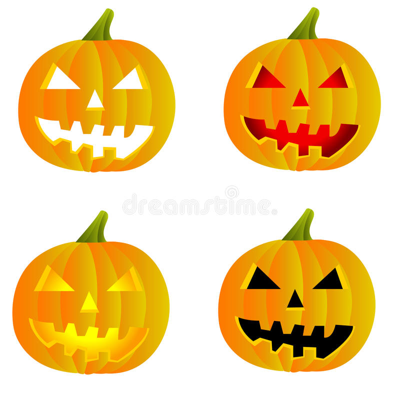 Lanterne de Halloween Jack o image libre de droits