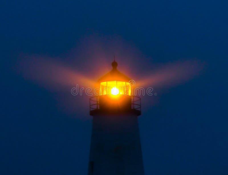 Lanterne de lancement de phare photographie stock
