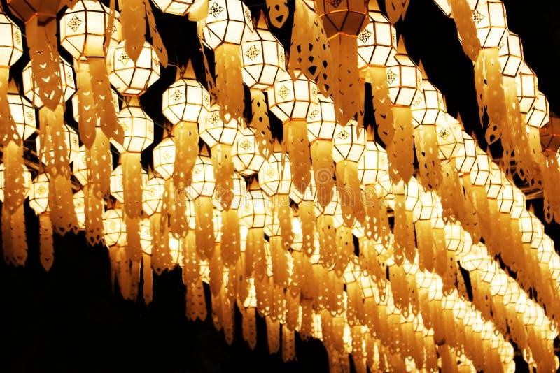 Lanterne de Lanna photo libre de droits