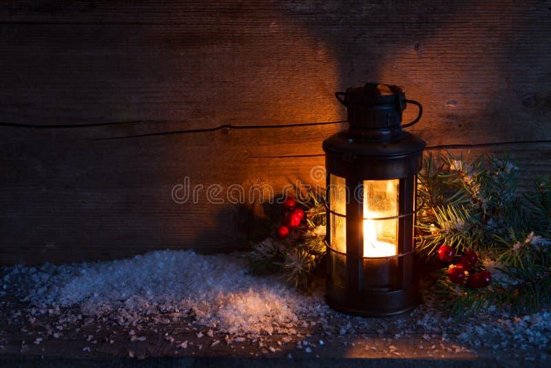 Lanterne de Noël photo stock
