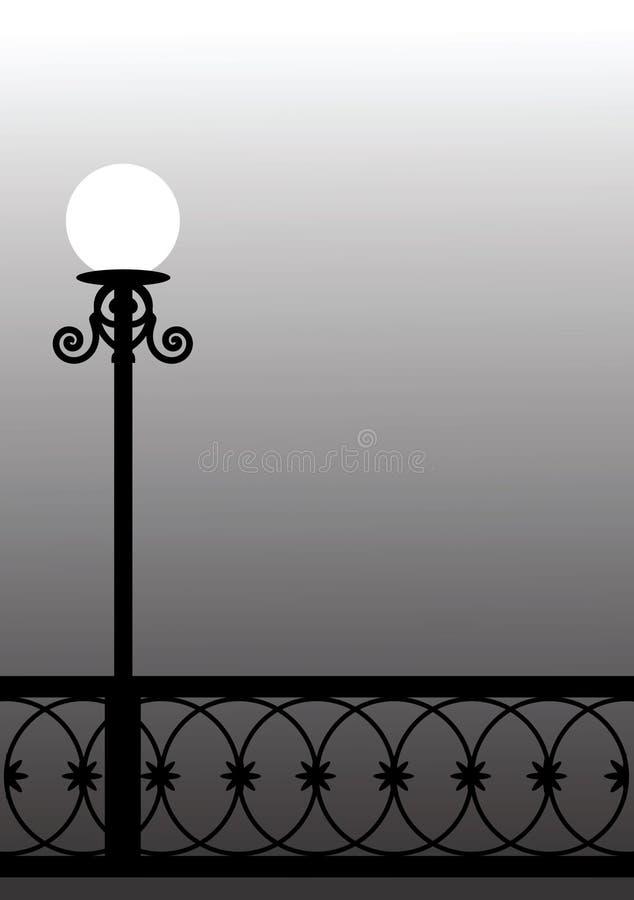 Lanterne de rue illustration libre de droits