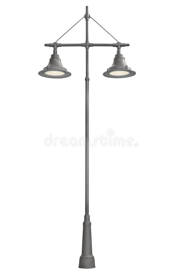 Lanterne extérieure lumineuse du rétro de lampadaire de paires de lanternes de réverbères de réverbère de plan rapproché d'isolem photos stock