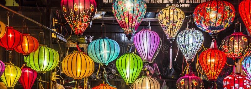 Lanterne a Hoi An fotografia stock libera da diritti
