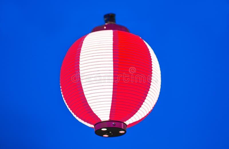 Lanterne rosse durante il festival cinese del nuovo anno, fuoco selettivo fotografie stock