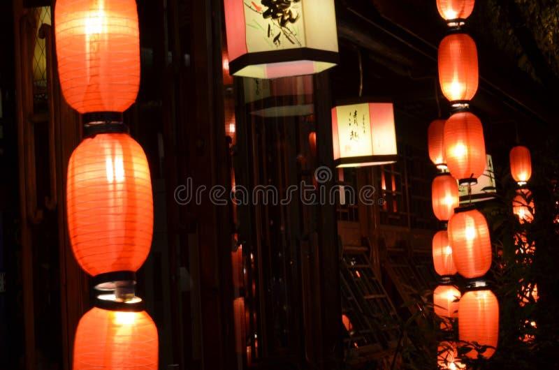 Lanterne rouge photographie stock
