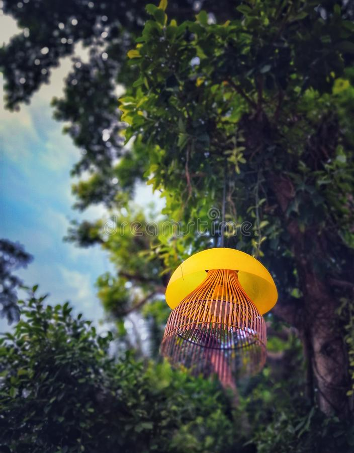 Lanternes, lanternes accrochantes, décorant photographie stock