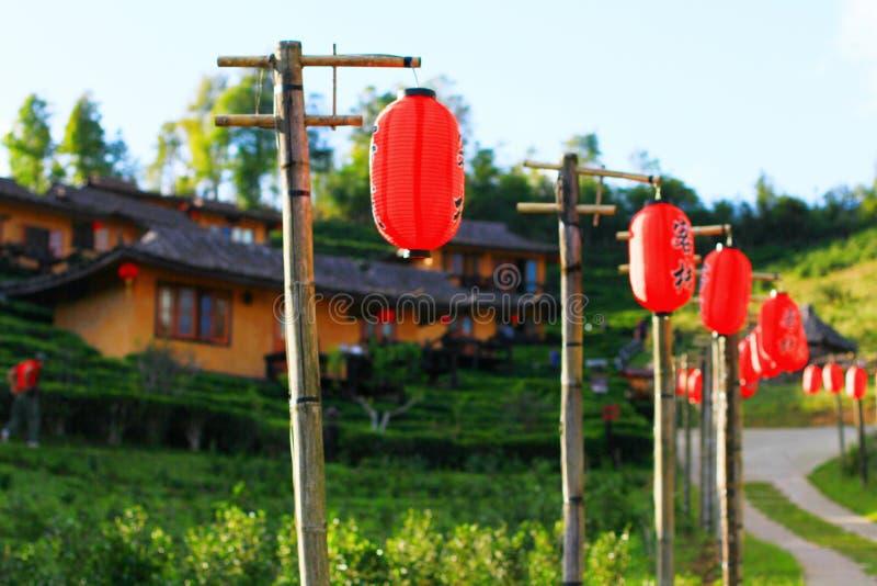 Lanternes chinoises images stock