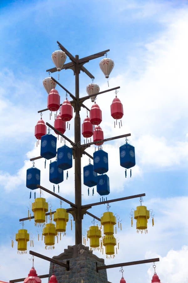 Lanternes en soie photo libre de droits