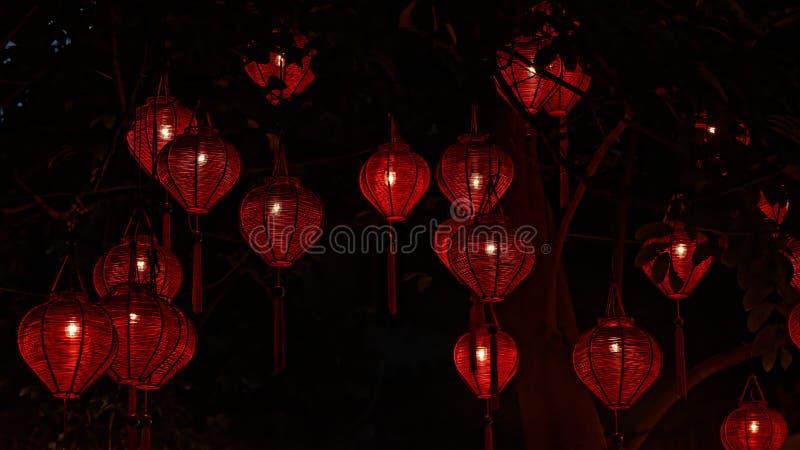 Lanternes traditionnelles en Hoi An photos stock