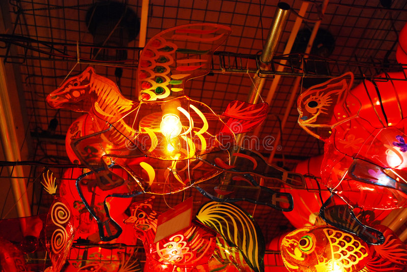 Lanterns 3. Lanterns are used in Asia for many reasons. From the mooncake festival, Chinese lunar new year to simply bringing good luck. These pictures are stock photo