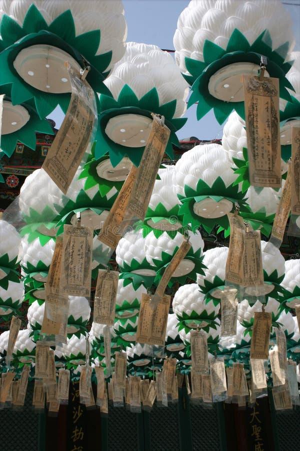 Lanterns stock images