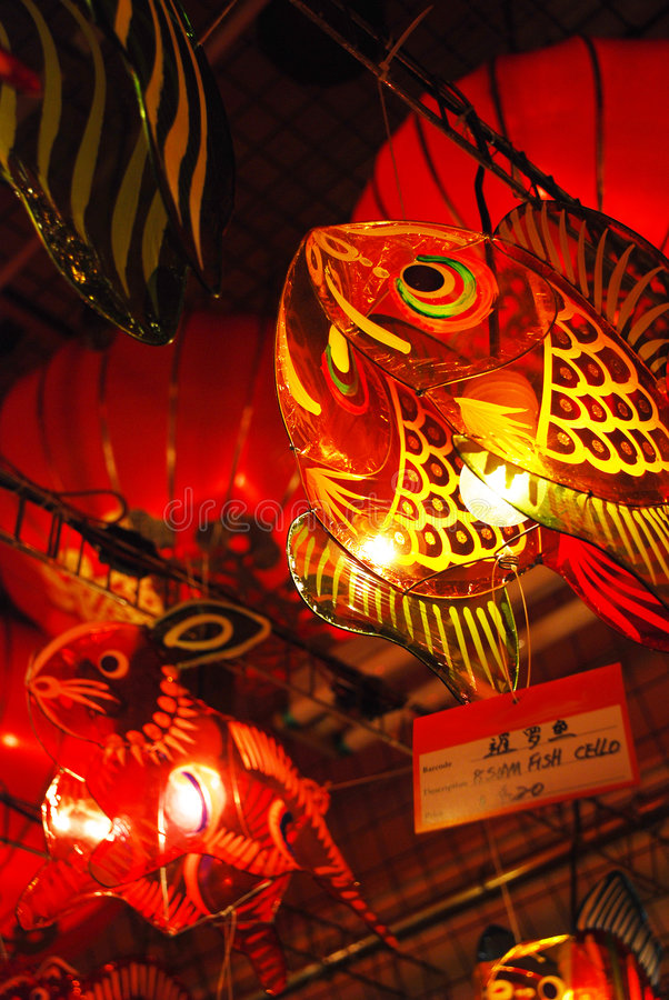 Lanterns 8. Lanterns are used in Asia for many reasons. From the mooncake festival, Chinese lunar new year to simply bringing good luck. These pictures are stock photos