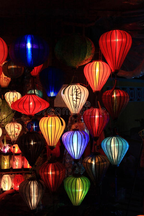 Download Lanterns stock photo. Image of booth, decoration, laos - 42235430