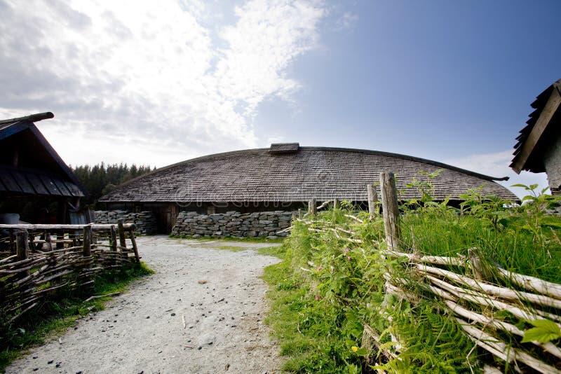lantgård viking royaltyfri fotografi