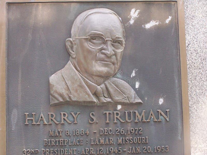 lantgårdgrandview harry huset missouri s truman Truman monument royaltyfri foto