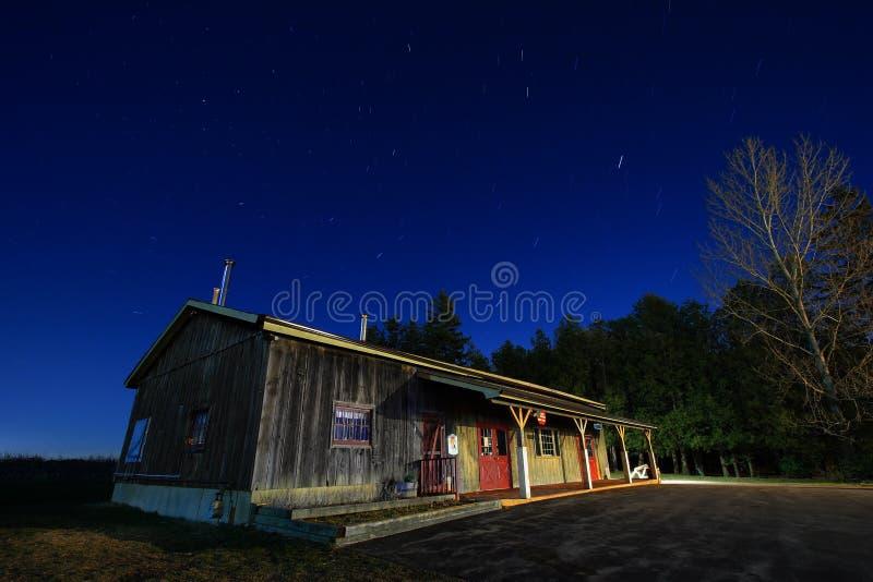 lantgårdnattlager fotografering för bildbyråer