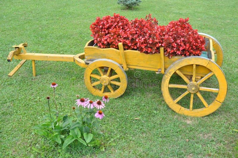 Lantgårdvagn arkivbild