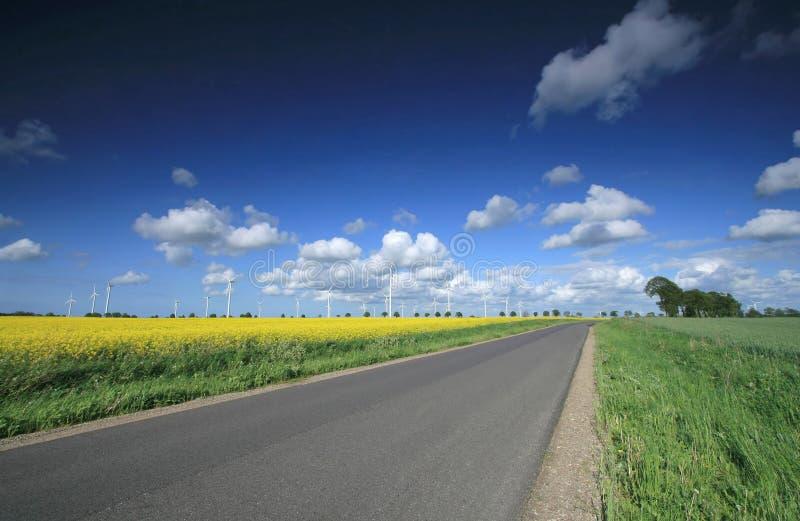 lantgårdwind fotografering för bildbyråer