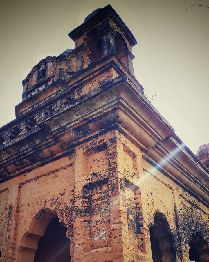 Lanthabal宫殿,曼尼普尔邦 免版税库存图片