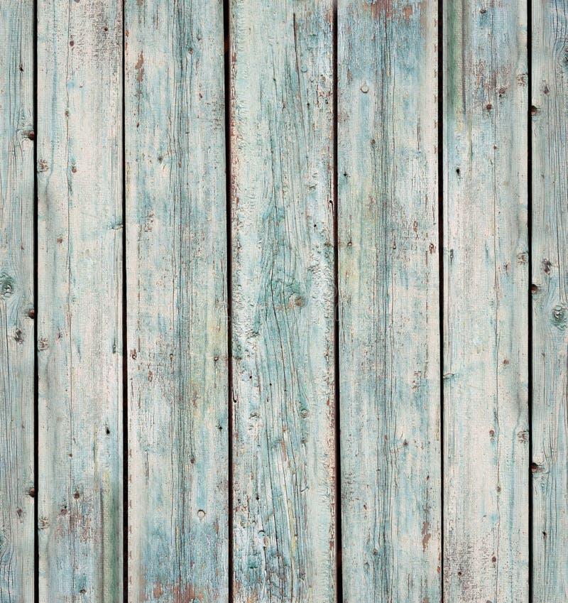 Lantlig gammal Wood plankabakgrund E Bl? modell f?r grungetr?v?gg Bl?tt tr? arkivfoton