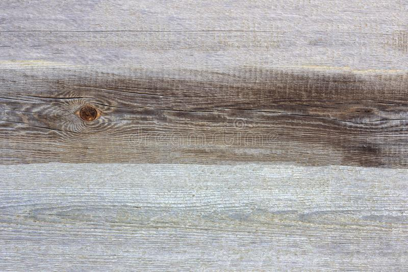 Lantlig grå trätexturbakgrund för enkel gammal naturlig grunge med sprickor och skrapor arkivbilder