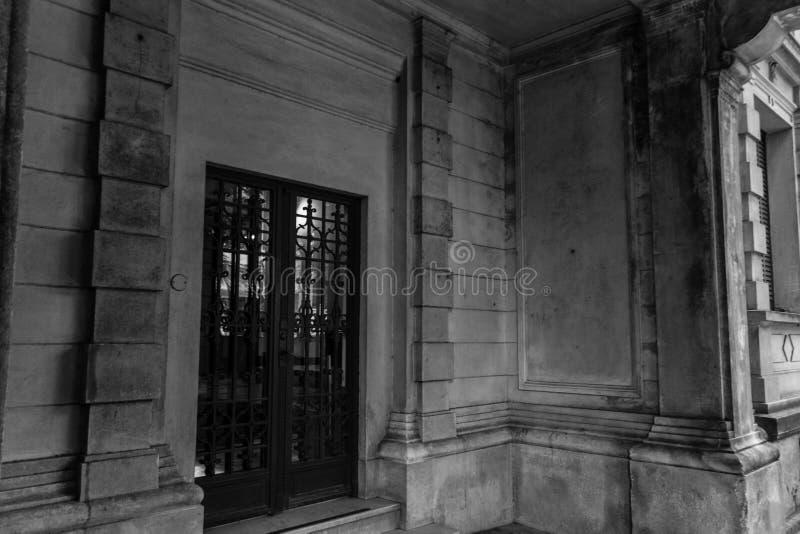 Lantlig historisk byggnad i Sao Paulo, Brasilien fotografering för bildbyråer