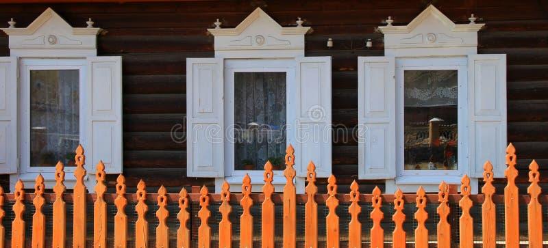 lantlig husdel arkivfoto