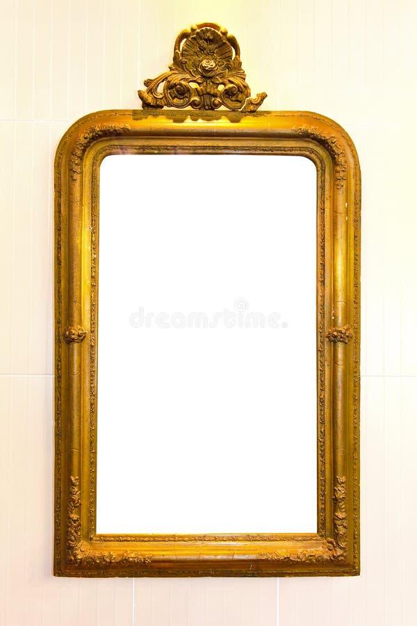 lantlig spegel royaltyfri fotografi