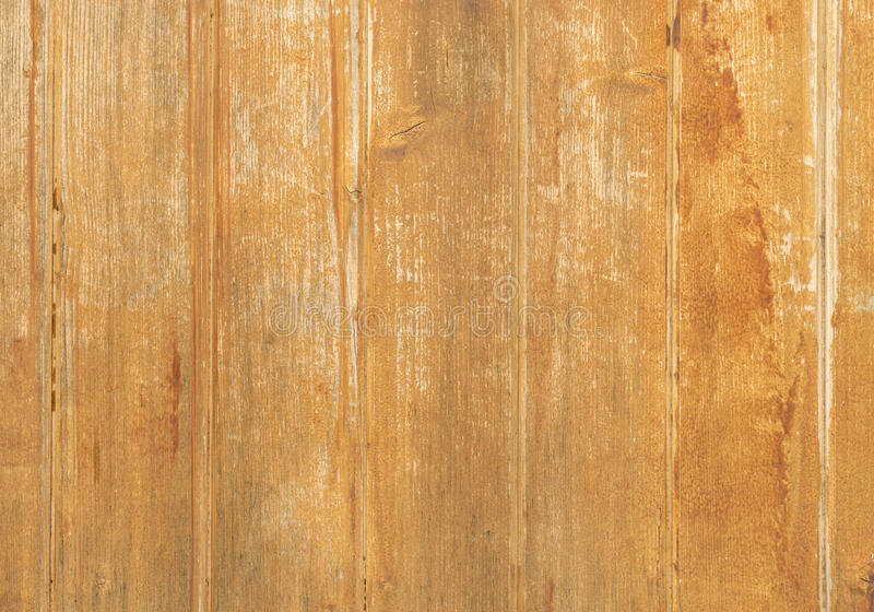 Lantliga wood bräden på ljus - brunt royaltyfria bilder