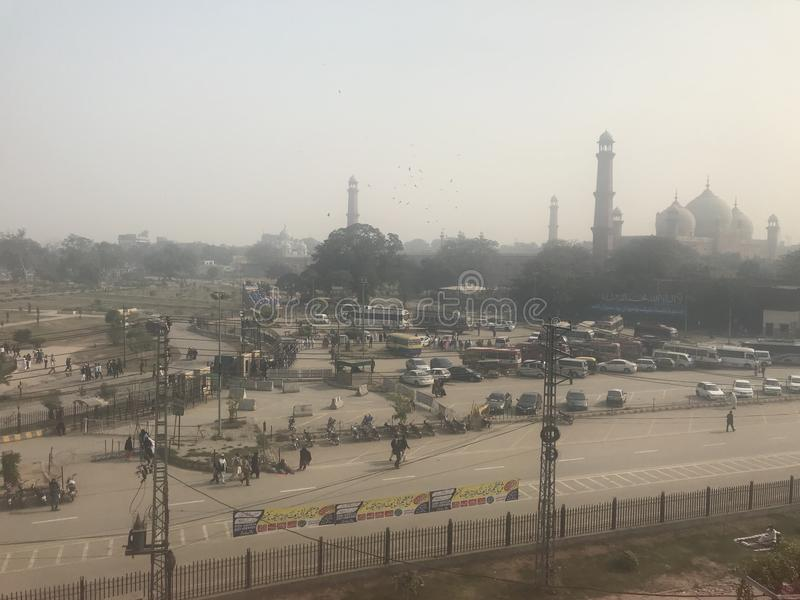 Lantligt landskap i South Asia royaltyfri fotografi